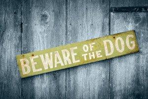 Beware of dog 300x200