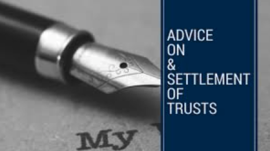 Adviceonsettlementoftrusts