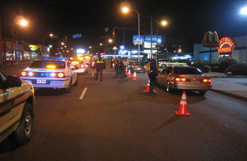 DUI-checkpoint-at-night