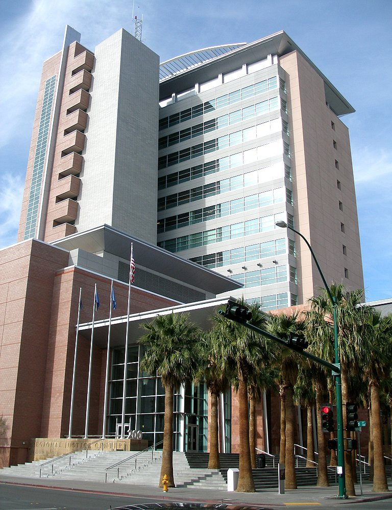 Las vegas regional justice center