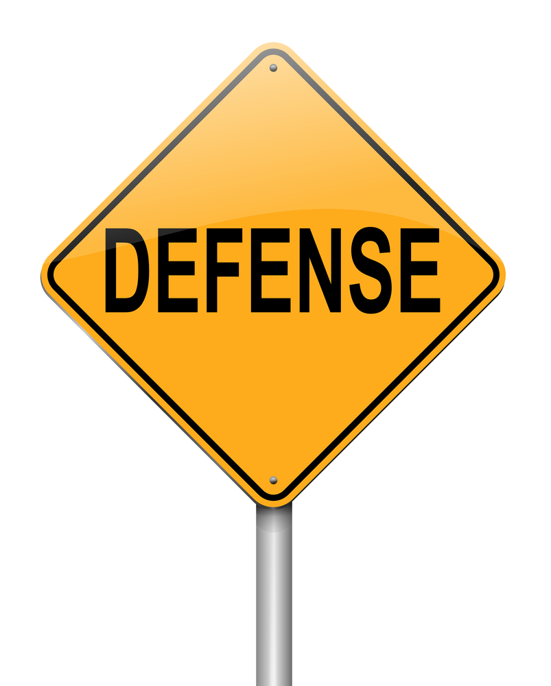 legal defense Definition of legal defense: one that satisfies all legal requirements of a court  case.