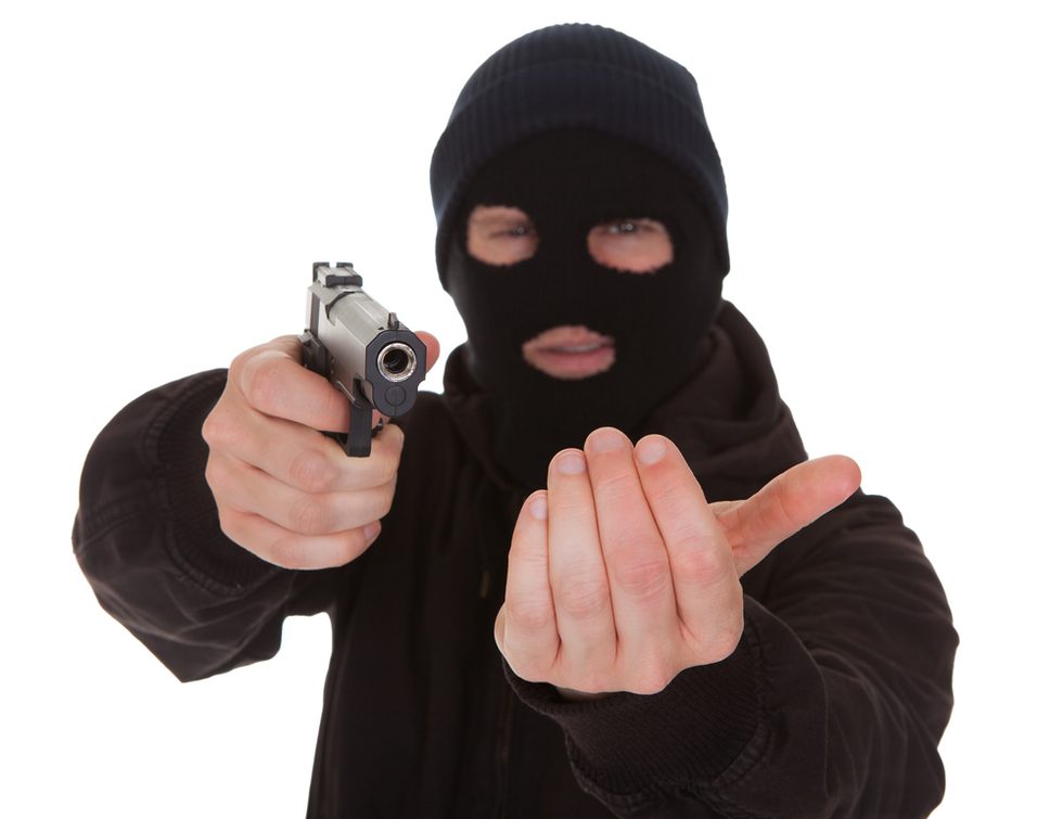 Masked 20robber robbery