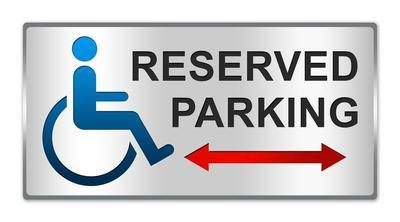 Dpplacard wheelchair 20parking 20sign