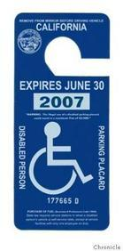 Illegal or Mis-Use of Disability Placards | CA Vehicle Code 4461 VC