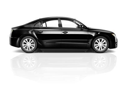 Black sedan optimized