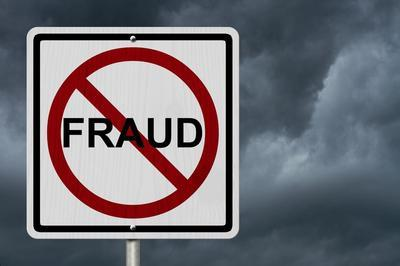 Anti-Fraud Sign