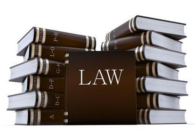 Law-books-representing-public-policy-exception