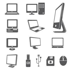 A variety of computer devices and accessories