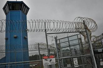 Prison-fence-and-watchtower