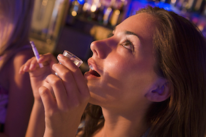Girl 20drinking 20smoking