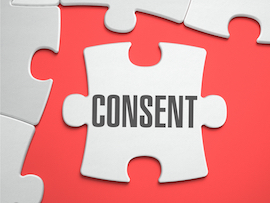 puzzle piece that says consent