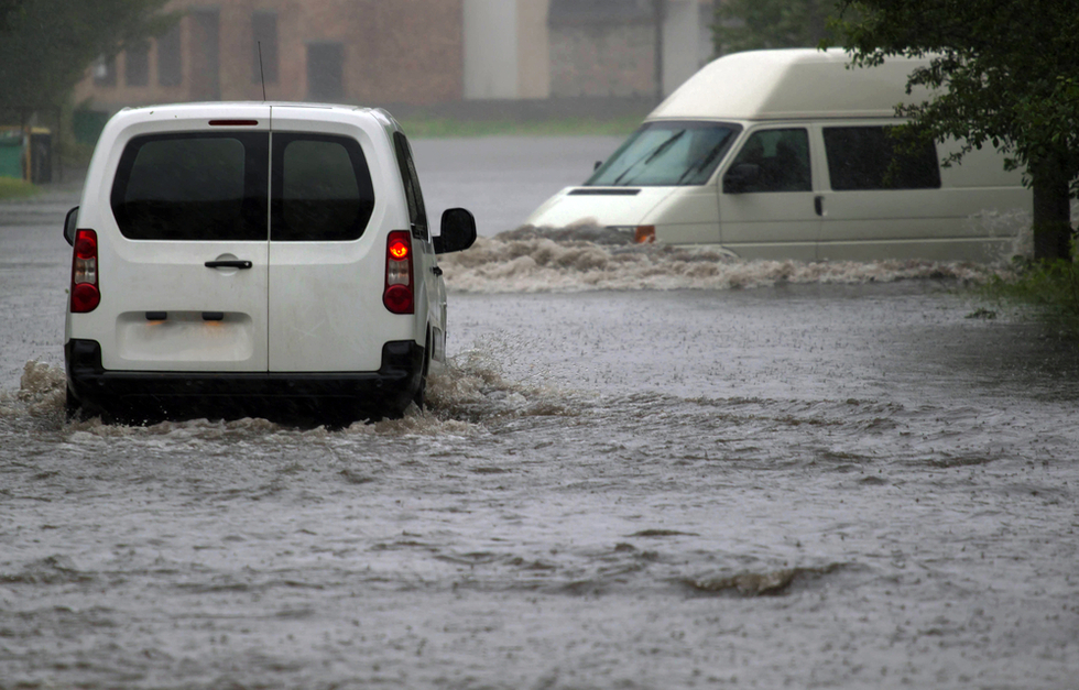 cars-on-flooded-street