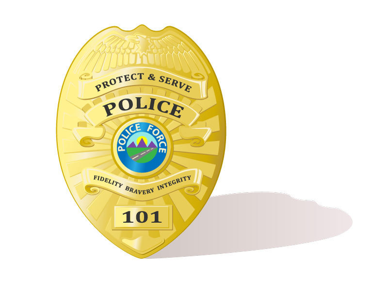 538d policebadge