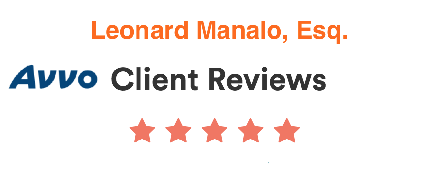 Avvo Client Reviews for Leo Manalo