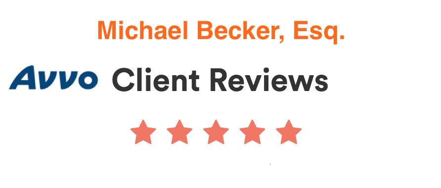 Avvo client reviews for Michael Becker