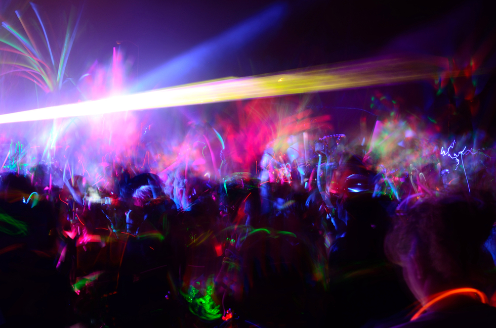 Rave-scene