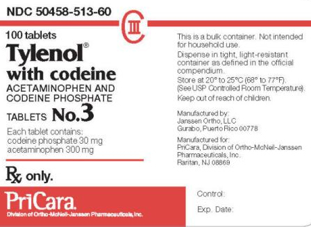 Prescription Tylenol with codeine label