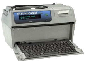 Intoxilyzer 8000 DUI breath testing device