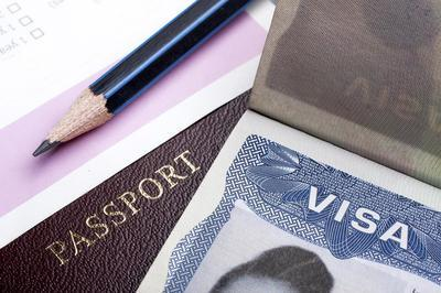 Visa 20passport 20pencil