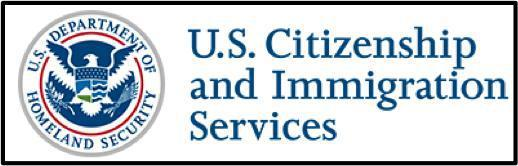 Official seal of U.S. citizenship and immigration services
