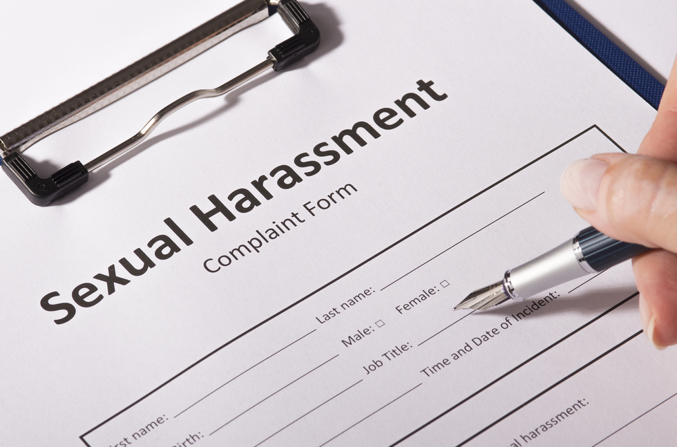 Harassment law sexual california