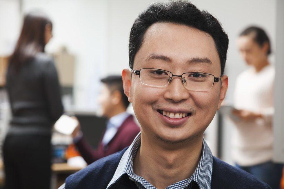 Asian-employee