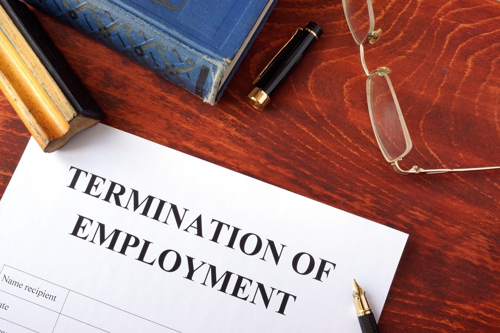 Job-termination-notice