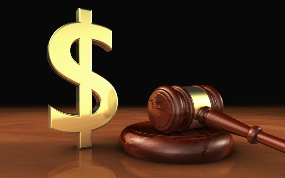 Gavel-and-dollar-sign