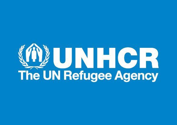 logo of the U.N. Refugee Agency