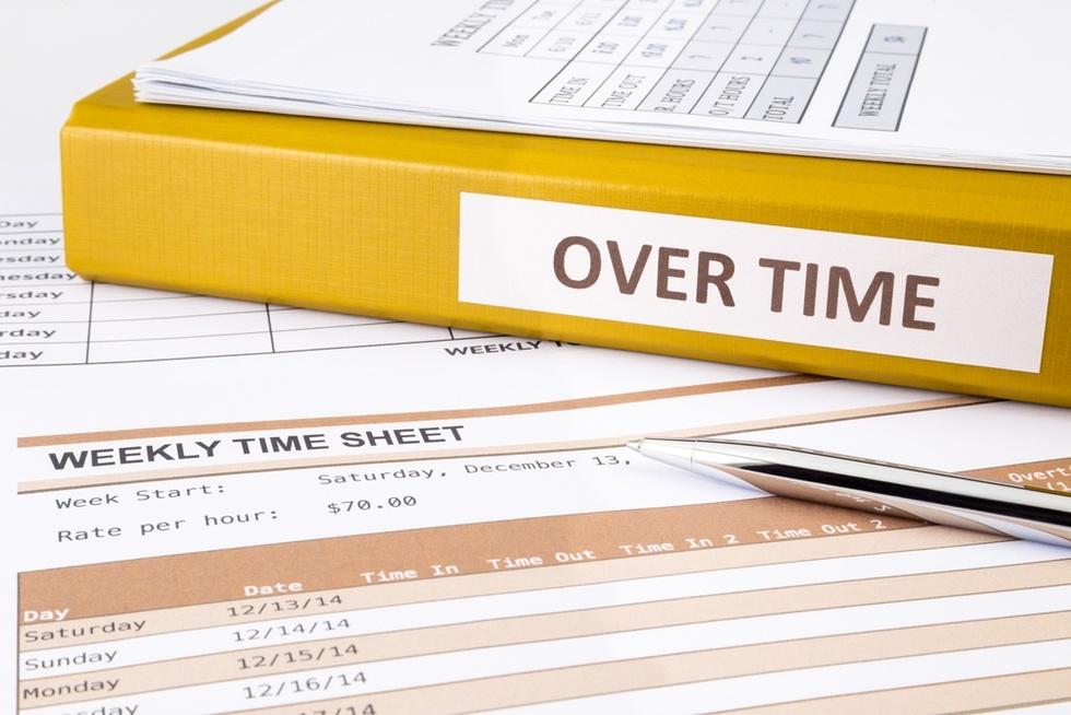 Overtime-binder
