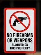 No 20gun 20sign
