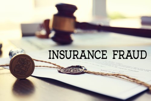 A fraudulent application for coverage by an insurer.