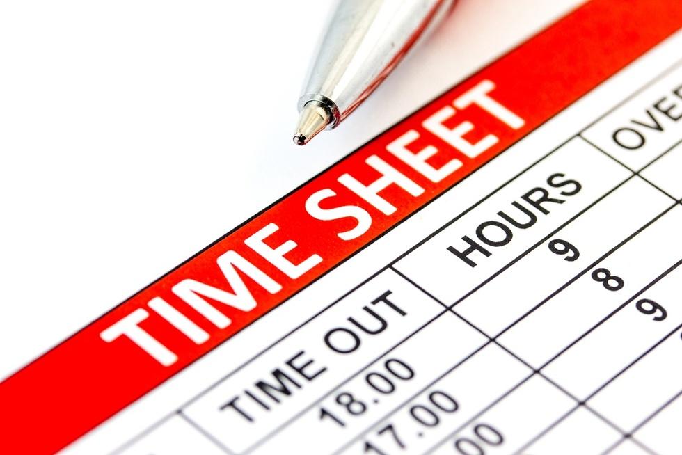 Time-sheet