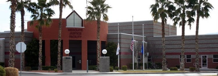 The Mesquite Detention Center shares a facility with the Mesquite Courts in Nevada.