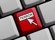 computer key that says terror