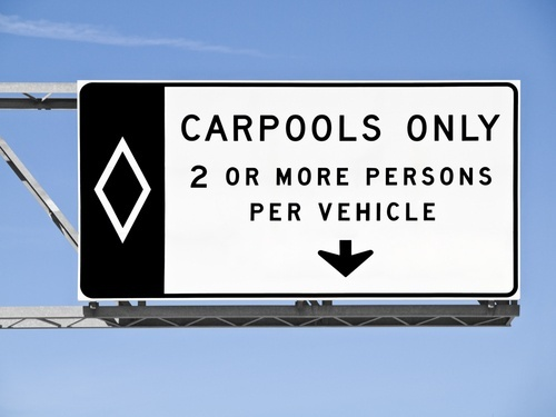Carpool 20sign