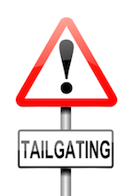 Tailgating 20sign