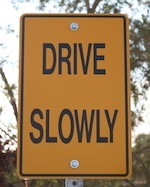 Slow 20sign