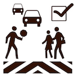 Black 20and 20white 20school 20crossing