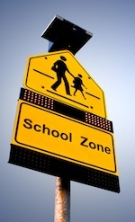 School 20zone 20sign 20people