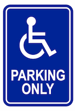 Handicap 20sign