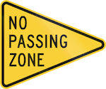 No 20passing 20zone