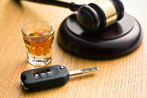 gavel alcohol dui court