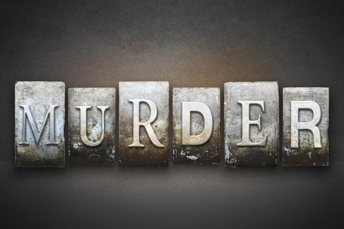 murder spelled out
