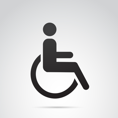 Wheelchair symbol, or International Symbol of Access