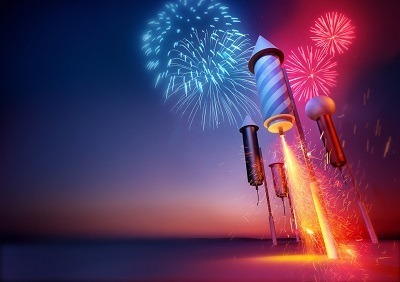 California Laws Against Illegal Fireworks