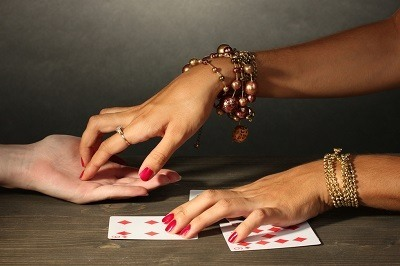 Fortune telling game, which can be a violation of Penal Code 332 PC