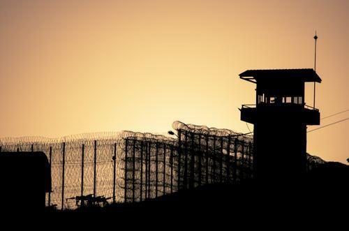 prison silhouette