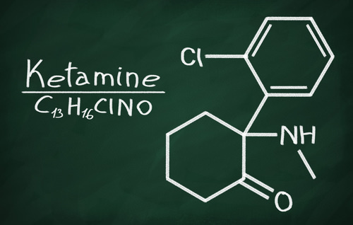 ketamine chemical breakdown