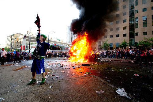 Man rioting (NRS 203.070)